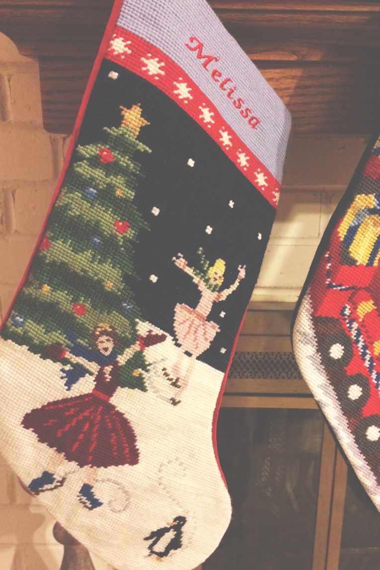 needle point stocking